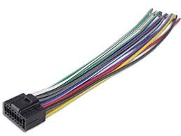amazon com kenwood car stereo head unit replacement wiring harness Wiring-Diagram Kenwood KD R at Kenwood Kdc 116s Wiring Diagram
