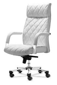 office chair white leather. White Office Chair Max Leather