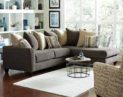 Two Piece Living Room Set Charcoal Gray Couch With Chaise Corey Two Piece Sectional Sofa