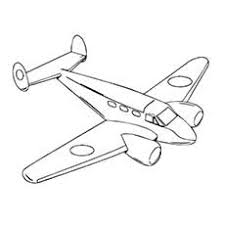 airplane pictures to colour. Simple Pictures Throughout Airplane Pictures To Colour