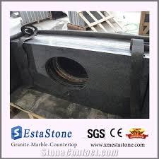 china impala dark grey g654 granite bathroom vanity top with sink cut