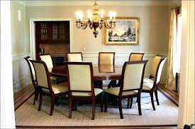dining table carpet room area rugs ideas what size rug kitchen inch protector under dini