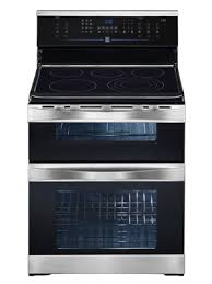kenmore stove top. kenmore elite electric free standing dual cavity range stainless steel 97503 stove top b
