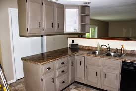Painted Kitchen Furniture Brown Painted Kitchen Cabinets