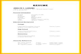 Personal Reference On Resume Resume Reference Examples How To Format ...