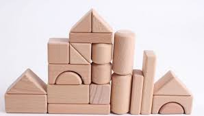 Free shipping,Natural Wood logs building blocks geometric shapes wooden  early development toys (22 blocks in a set) HT162-in Blocks from Toys &  Hobbies on ...