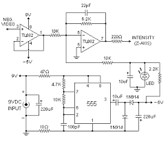 vga to composite video converter circuit diagram wirdig circuit diagram converter trigger signal causes the 555 to discharge
