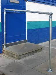 external handrails for steps uk. free standing screwed down variable angle handrail hand rail handrailing kit 33.7mm tube external handrails for steps uk n