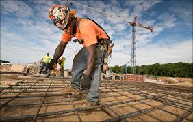 going to the mat rebar worker