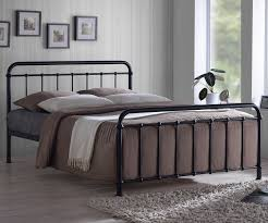 Metal Bed Bedroom Time Living Miami Miami Metal Bed Frame Bedsdirectuknet
