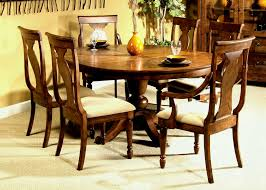 gorgeous round wood dining table set 25 cover top protector pad felt oak 60 rustic 1024x865