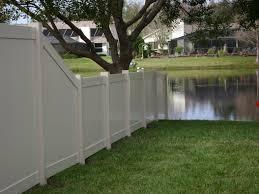 Vinyl Bravo Fence