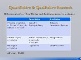 introduction to business research methods  zikmund 2010 29 differences between quantitative and qualitative research