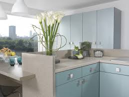 Designer Kitchens Manchester Acrylic Blue Duo Kitchens Manchester Kitchen Designs