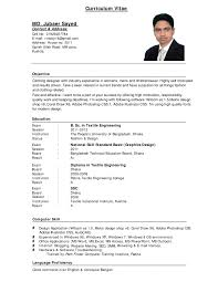 Resume Cv Format Example Examples Pdf And Get Inspiration To