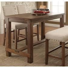 Furniture Of America Telara Contemporary Natural Counter Height