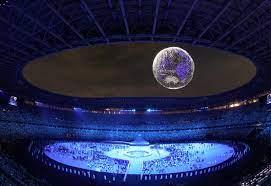 التكنولوجيا والسلام تندمجان فى حفل افتتاح أولمبياد طوكيو 2020.. صور – يوم  نيوز