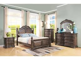 New Classic Bedroom Furniture New Classic Larissa King Poster Bed With Arched Headboard And