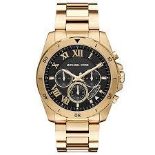 men s michael kors watches ernest jones michael kors men s gold tone bracelet watch product number 4904427