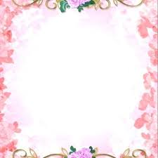 Blank Invitation Cards Templates Template Idea For Card Free Vector