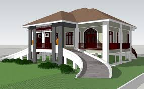 Design Rumah Moden Pelan Rumah Kampung Moden Modern House