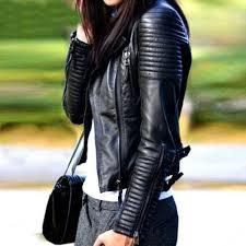 2019 leather jacket women leather jackets coat slim motorcycle soft zipper girl leather jaquetas de couro feminina casaco women coat q4201 from yizhan04