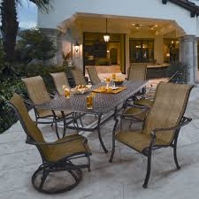 costco pool furniture. Delighful Costco Patio Patio Furniture Costco Amazon Outdoor Saratoga 11  Piece Sling Dining Collection In Pool P