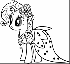 Small Picture fabulous my little pony princess coloring page with little pony