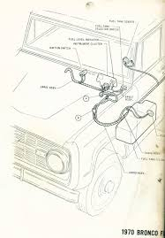 gas gauge not working? 66 77 early bronco tech support ford early bronco fuse panel at 1975 Ford Bronco Wiring Diagram