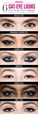 6 ways to get the perfect cat eye for your eye shape makeup tipseye