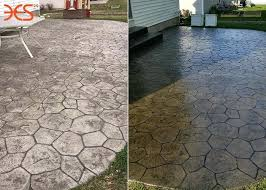 unique patio flagstone sealer wet look solvent based concrete for embossed patios paving for sealing flagstone patio
