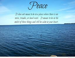 Awesome Peace Quote Hd 2015
