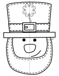 template of a leprechaun feel lucky with 15 free st patricks day printables saints craft