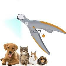 Light Up Pet Nail Clippers Pet Nail Clipper With Led Light Magnifier