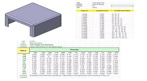 18 gauge sheet metal thickness training mysolidworks