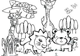 Animal Coloring Pages Pdf Animal Coloring Pages Animals Jungle Page