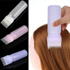 1 <b>Pcs Professional</b> Hair Colouring Comb Empty Hair Dye Bottle with ...