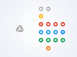 Material Drive Icons Sketch Resource