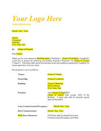 Lease Letter Of Intent Template | Inviview.co