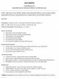 Resume Elegant Simple Resume Template For High School Students