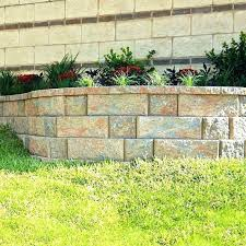 retaining wall blocks home depot hogardiverso co
