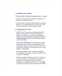 Travel Checklist Template - 8+ Free Word, Pdf Documents Download ...