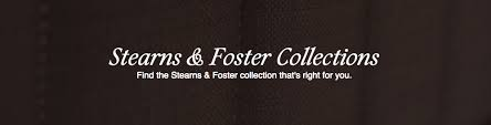 stearns and foster logo. stearns \u0026 foster collections and logo