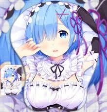 2way rezero rem anese anime 3d mouse pad mat wrist rest 02 affiliate anime