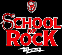 Image result for school of rock musical logo