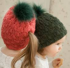Ponytail Hat Knitting Pattern Best Messy Bun And Ponytail Hat Knitting Patterns In The Loop Knitting