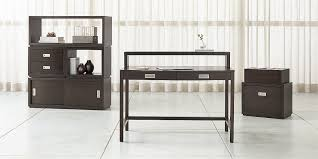 Modular home office desks Build In Aspect Coffee Modular Home Office Collection Crate And Barrel Modular Office Furniture Crate And Barrel