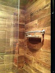 wood tile shower wood tile shower wood look tile shower base on wood floor wood tile