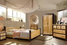 Schlafzimmer Marseille Landhausstil Massivholz Rustikal