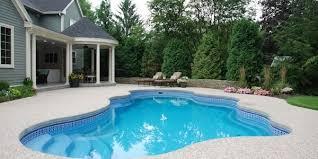 gunite pool cost. Big Space Cost Of Fiberglass Pools Versus Gunite Pool